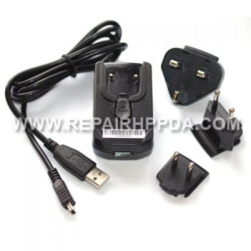 HP Original Power Adapter + USB cable for HP iPAQ PDA
