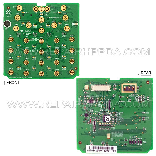 Keypad PCB (31-Key) for Psion Teklogix Workabout Pro 3, 7527S-G3